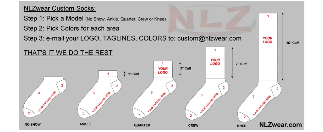 Custom Technical Socks