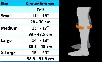 Sizes Calf