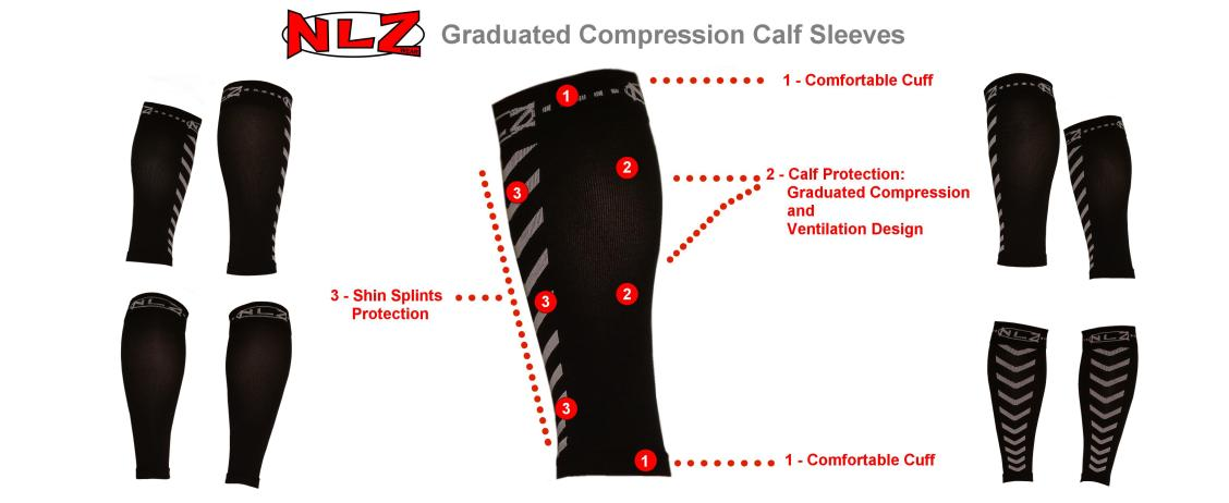 Compression Calf Sleeves by NLZwear